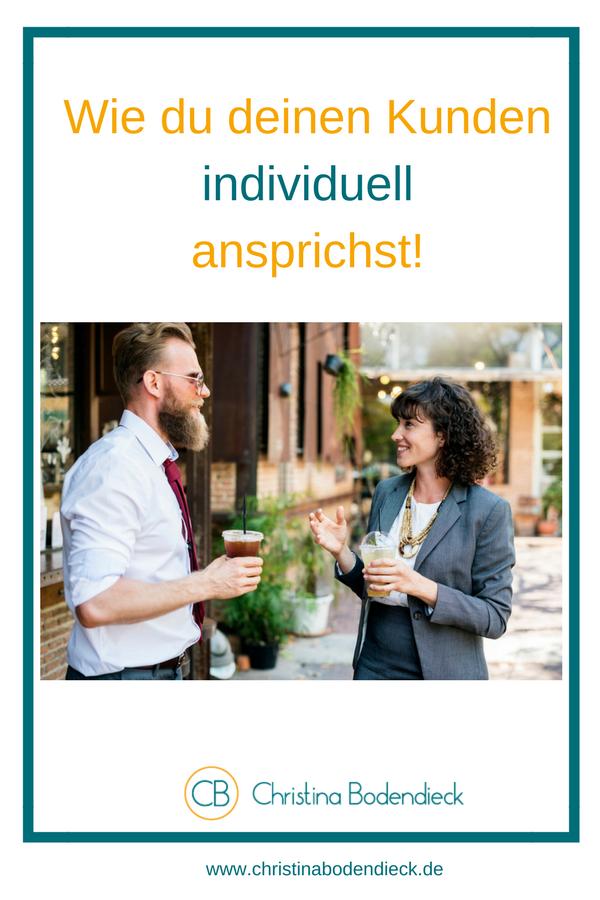 individuelle Kundenansprache