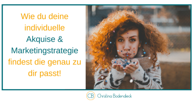 Akquise und Marketingstrategie