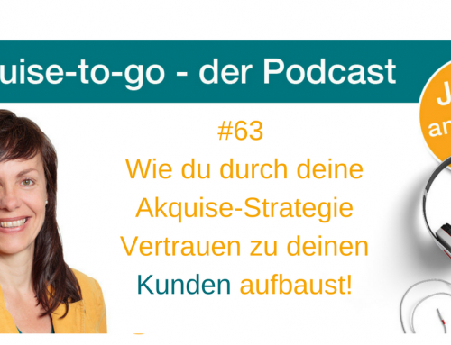 Wie du durch deine Akquise und Marketingstrategie Vertrauen aufbaust
