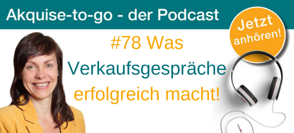 Christina Bodendieck bei akquise-to- go Podcast