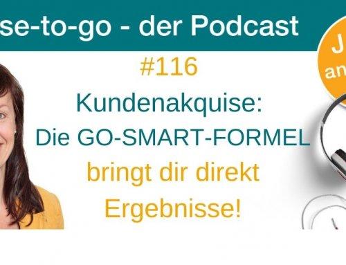 Kundenakquise: Die GO-SMART-FORMEL bringt dir direkt Ergebnisse